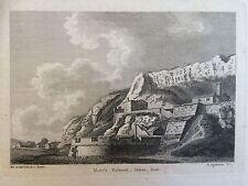 1784 impresión de mote's baluarte, Dover, Kent