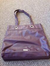 dark purple/plum lipsy london tote/shopper/handbag