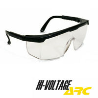 Zenon Z12 Safety Glasses Clear Lens Anti-Fog Clear Temples 12//CASE M498