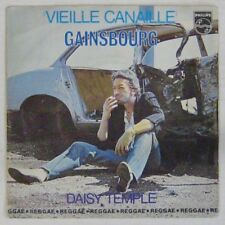 Serge Gainsbourg 45 tours Vieille canaille Philips 1979