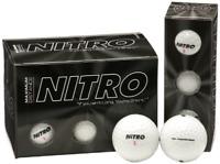 (12-Pack), White Maximum Distance Golf Ball