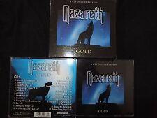 COFFRET 2 CD NAZARETH / GOLD / DELUXE EDITION /