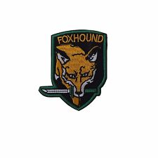 Metal Gear Solid Orange Fox Hound Embroidered Patch