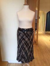 Gerry Weber Skirt Size 20 BNWT Brown Beige RRP £115 Now £34