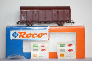 Roco HO SNCF Wagon couvert SERNAM Ref 46445