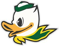 "Oregon Ducks Color Die Cut Vinyl Decal Sticker - You Choose Size 2""-28"""