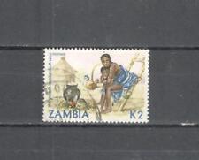 S6680 - ZAMBIA 1981 - LOTTO ALTO VALORE ARTIGIANATO - VEDI FOTO