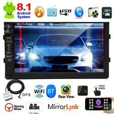 2 DIN 7 inch HD Android 8.1 Car Stereo GPS BT FM Radio Camera For Ford Ranger