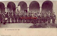 L' ONOMASTICO DEL RE (Postale Italiana) Italy