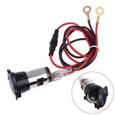 1 Set DC 12V 120W Car Boat Tractor Cigarette Lighter Power Socket Outlet Plug
