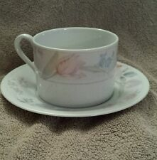 American Limoges Flowers cup and saucer set