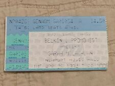 05-26-1994 Sarah Mclachlan Concert Ticket Stub, Newport Music Hall