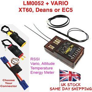 Lemon Rx DSMX 7 Channel Full Telemetry Diversity Receiver + Vario Power Altitude
