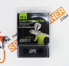 Grex TF-3 0.3mm Fan Spray Cap for 0.3mm Needle and Nozzle
