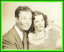 "ELLEN DREW & DICK POWELL in ""Christmas in July"" Original Vintage Photo 1940"