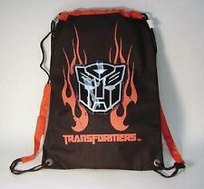 Transformers Black Canvas Back Pack by Hasbro