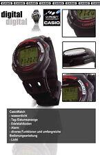 Casio reloj digital con mucho function alarma-WR, etc.