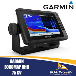 GARMIN EchoMAP UHD 75 CV | Fishfinder & GPS | Garmin EchoMap UHD | Free Shipping