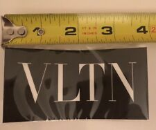 1 Valentino VLTN Decal Sticker For Home, Car, Laptop  4 in x 2 inch