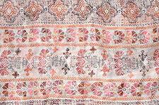 Silk Chiffon Stripe Floral Fabric Semi Sheer Apparel Bfab Silk