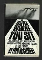 "K4-  ""It Doesn't Matter Where You Sit""  AIR AIRLINES JETS DISASTERS CRASHES 1969"