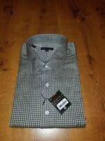 ROBERT TALBOTT Carmel Dress Shirt 18 x 35 100% Cotton