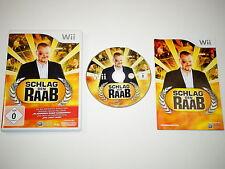 Nintendo Wii Spiel Schlag den Raab Teil 1 - komplett deutsch ~5383
