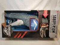 Mattel Jurassic World Real Feel Mosasaurus Swimming Figure Fallen Kingdom NIB