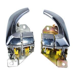 For Kia Sorento 836103E01 Interior Door Handle Rear Left & Right 836203E011