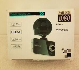 Full HD 1080P Vehicle Blackbox DVR Camera Recorder Dashcam Black