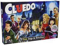 Juegos en Familia Hasbro Juegos de Mesa Cluedo Estrategia Niño Niña Nueva Versio