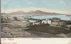 a spain old postcard spanish tarjeta postal espana canary islands las palmas