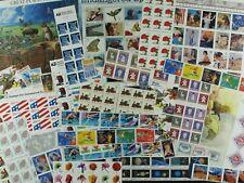 Weeda USA Random Postage Lot of $100 Face Value in mint stamps, full OG, useful!