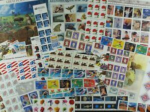 Weeda USA Discount Postage $100 Face Value mint stamps, US full OG, useful!