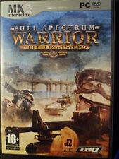 Full Spectrum Warrior Ten Hammers PC Nuevo precintado shooter táctico PAL España