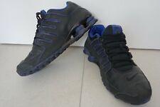 Nike Shox NZ schwarz/blau EU 44 / US 10 getragen