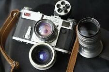 Zeiss Ikon Contax II copy kiev with 3 lens multifinder fine working