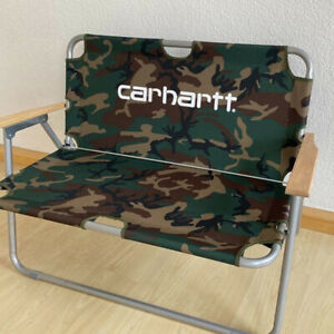 Carhartt WIP Sports Couch Doppel Gartenbank camo Camping Stuhl B WARE / 2. Wahl