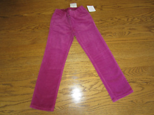 NEW WITH TAGS Hanna Andersson Girls Corduroy Pants Size 130 (US 8)