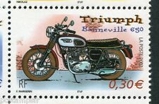 FRANCE 2002, timbre 3515, MOTO TRIUMPH BONNEVILLE neuf** VF MNH STAMP, MOTORBIKE