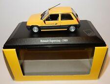 UNIVERSAL HOBBIES RENAULT SUPER 5 SUPERCINQ 1989 POSTES POSTE PTT 1/43 luxe box