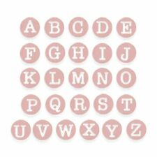 Sizzix Dainty Uppercase Alphabet Dies - Letters - Thinlits