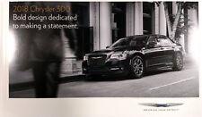 2018 Chrysler 300 32-page Original Sales Brochure Catalog NEW