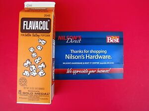 Flavacol Seasoning Popcorn Pop Corn Salt Ingredient Yellow Color Apeal 2045