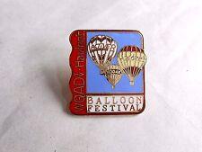 Vintage WQAD-TV / Hardee's Quad Cities Hot Air Balloon Festival Souvenir Pin