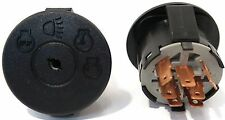 Ignition Starter Switch w Key Craftsman John Deere L111 Huskee Supreme Dixon ZTR