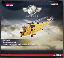 Corgi aviación archivo AA33415 1/72 escala Mar Rey HAR.3 RAF 22Sqn. (DEFECTO PINTURA)