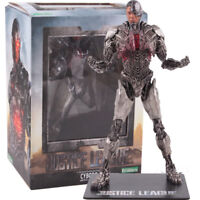 DC Justice League Cyborg Artfx Statue PVC Figure Collectible Model Toy