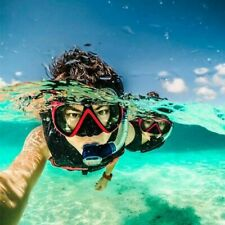 Snorkel Goggles Scuba Face Diving Mask Glasses Mount for GoPro Hero 8 7 6 5 3+4
