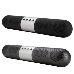 Compact Bluetooth 5.0 Wireless Speakers Loudspeakers Support TF Card 1200 mAH